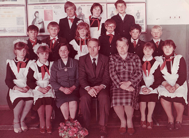 Т. Н. Митина с коллегами и учениками