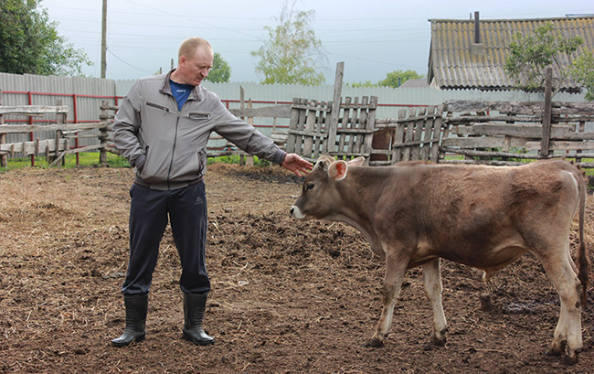 Фермер В.В. Тихонов