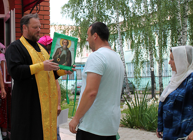 Велопробег с иконой преподобного Макария Желтоводского и Унженского