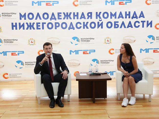 Встреча с Молодежной командой НО