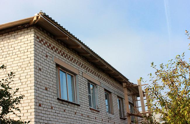 Ремонт крыши в п. Центральном