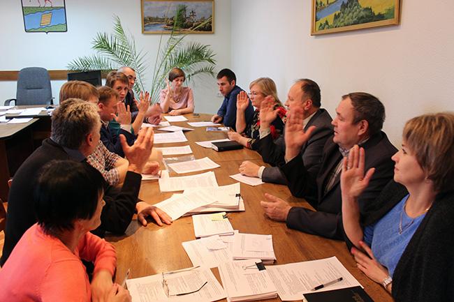 Заседание общественной комиссии