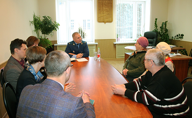 Личный прием граждан проводит А.М. Максимов, и.о. прокурора Нижегородской межрайонной природоохранной прокуратуры