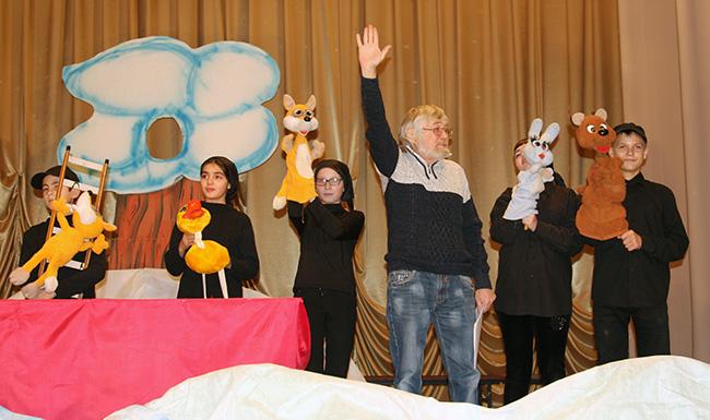 Открытие Года театра в Перевозе
