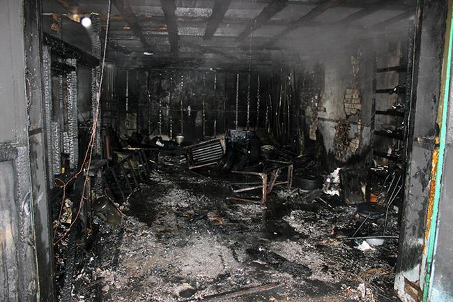 Пожары в январе