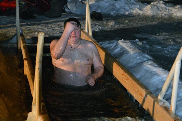 Купание на Крещение