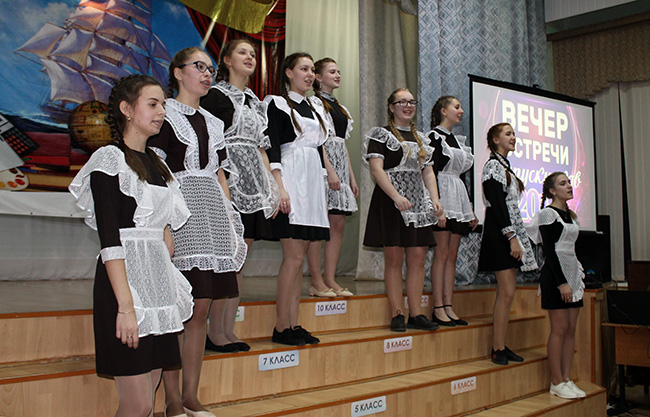 Вечер встречи выпускников СШ №1 г. Перевоза