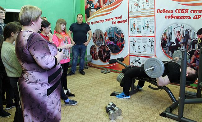 Открытие спортивной комнаты в Вельдеманове