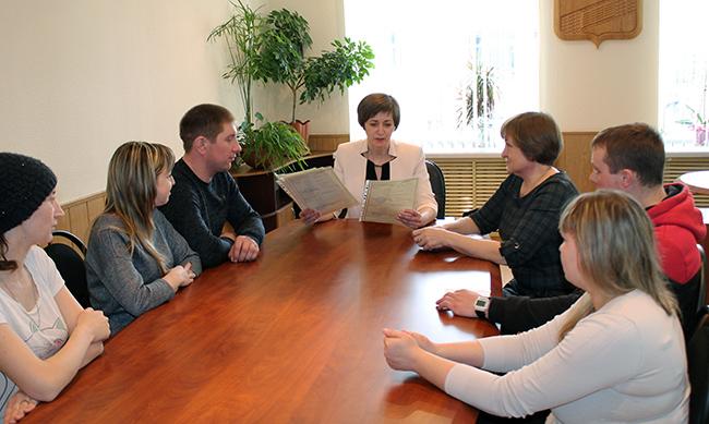 Встреча с молодыми специалистами