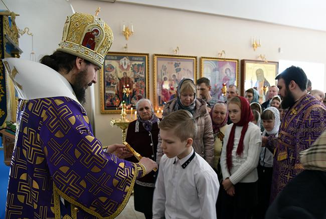 Епископ Лысковский и Лукояновский Силуан в Перевозе