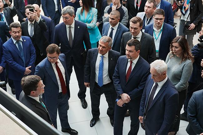 Губернатор Нижегородской области Глеб Никитин на конференции ЦИПР - 2019