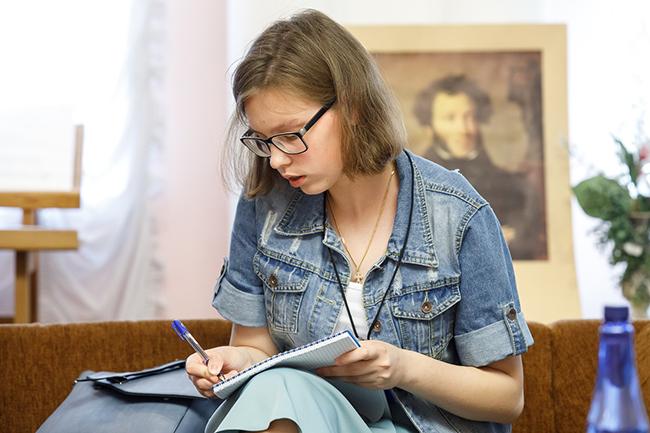 """Дарья Шимина (фото - группа конкурса """"Класс!"""", """"ВКонтакте"""")"""