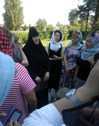 Пресс-тур по Свято-Троицкому Серафимо-Дивеевскому монастырю