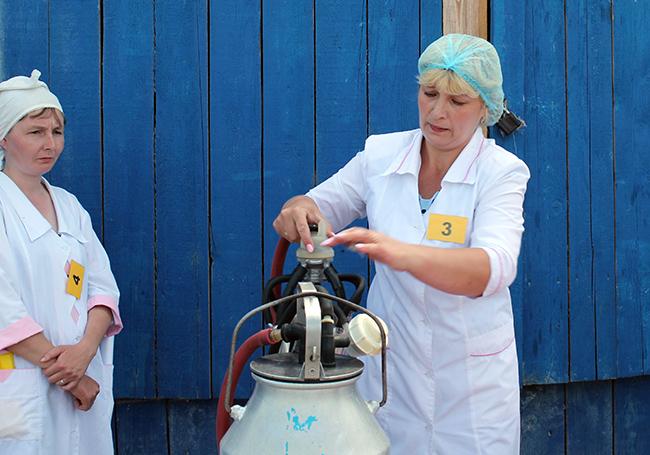 Конкурс среди работников животноводческойотрасли
