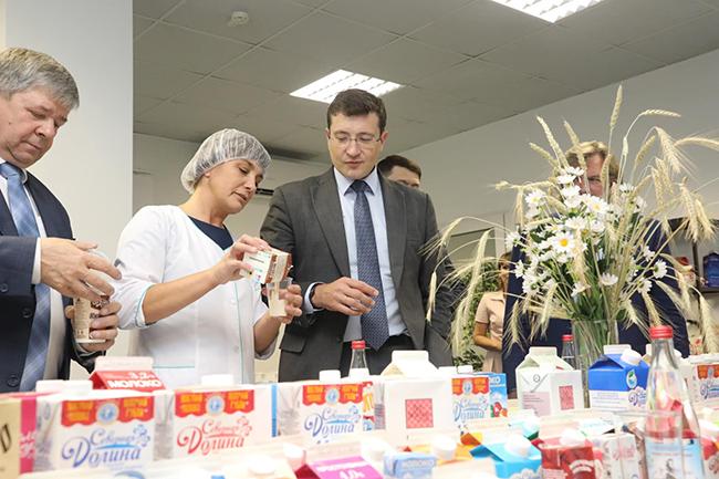 Губернатор Г. Никитин в Шахунье