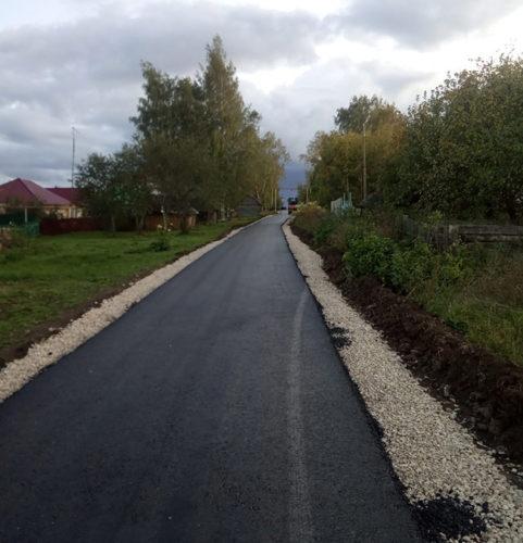 Новая дорога в д. Заключной